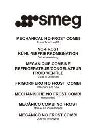 Smeg FC34XPNF koelvriescombinatie - Wehkamp.nl