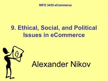 social issues in e commerce