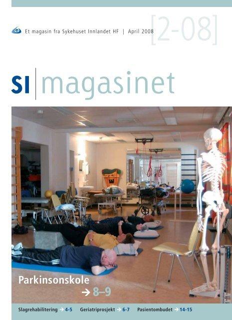 SI Magasinet nr 2-2008 - Sykehuset Innlandet HF