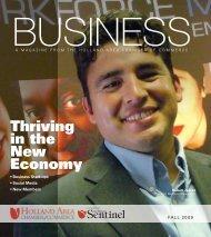 Entrepreneurship - West Coast Chamber of Commerce