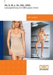 PDF Datei: Broschüre / OBO / Obos Top Models