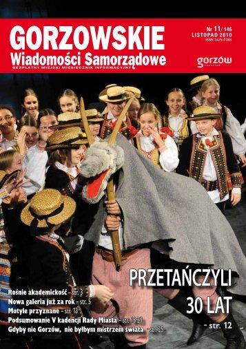 GWS nr 11 / 2010 - Gorzów