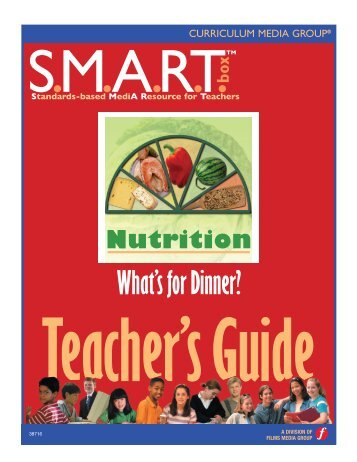 What's for Dinner? - Classroom Health