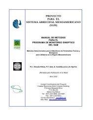 Manual de Metodos para el Programa de Monitoreo Sinoptico