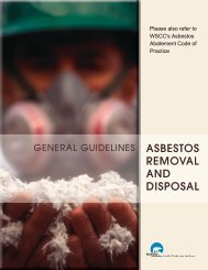 Asbestos Removal and Disposal Guidelines - Department of Public ...