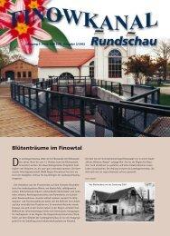 "Delegation der Regionalinitiative ""Fluss, Stadt, Land"" in Eberswalde"