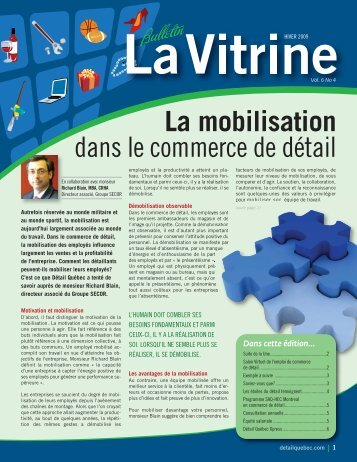 La Vitrine vol. 6, no 4 - Détail Québec