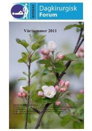 VÃ¥r/sommer 2011 - Velkommen