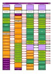 GRILLE DES PROGRAMMES Teva SEMAINE 04 - M6 Publicité