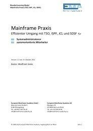 Mainframe Praxis - European Mainframe Academy