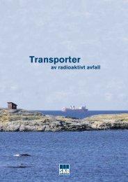 Transporter av radioaktivt avfall - SKB