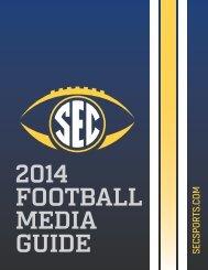 2014 SEC Football Media Guide PDF