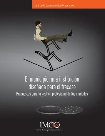 El municipio: una institución diseñada para el fracaso - Instituto ...