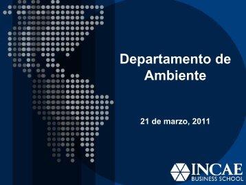 Información Ambiente INCAE - Asamblea Legislativa