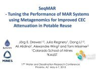 Tuning the Performance of MAR Systems using Metagenomics for ...