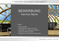 Download - PDF-Mappe - Hannes Balck