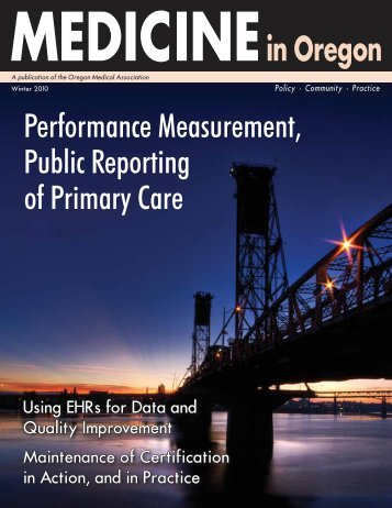 Performance Measurement, Public Reporting of ... - LLM Publications