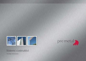 Rivestimenti architettonici di facciata - pre metal