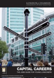 Capital Careers2 - London Chamber of Commerce and Industry