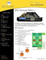 BEE4 Hardware Platform - Aspen Electronics