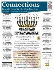 December 2012-January 2013 - Temple Emanu-El