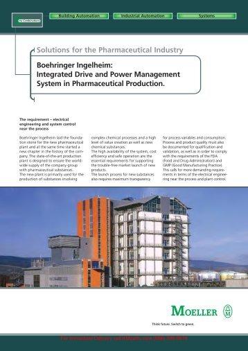 Boehringer Ingelheim - Moeller Electric