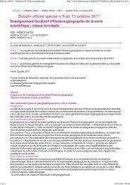 HG Terminale S BO spécial n° 8 du 13 octobre 2011 - Histoire ...