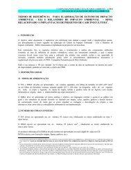 Implantação de projetos de carcinicultura - CPRH