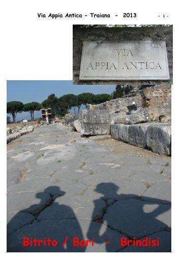 Via Appia Antica - Traiana - 2013