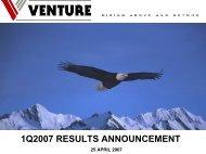 341 KB - Venture Corporation Limited