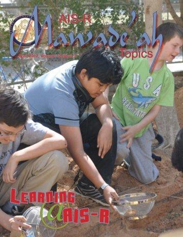 Mawadeah Volume 12-2.pdf - American International School - Riyadh