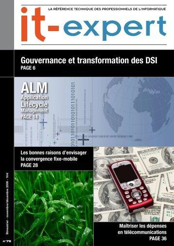 Gouvernance et transformation des DSI - IT-expert