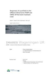 IMARES Wageningen UR - PressPage