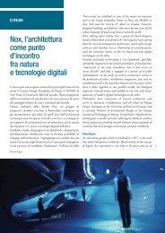 Nox, l'architettura come punto d'incontro fra natura e tecnologie digitali