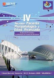 IV Reunión PPP y EA - Sociedad Española de Medicina Interna