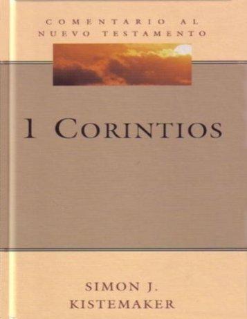 1 Corintios de Simon J Kistemaker