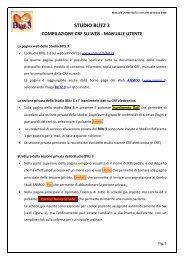 studio blitz 3 compilazione crf su web - manuale utente - Anmco