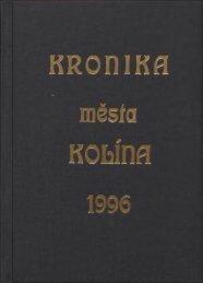 Kronika 1996 Barevné provedení (12,7 MB) - Kolín