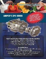 Ampco ZP3 Positive Displacement Pumps - Condit Company