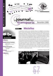 Le Journal des transports N° 67 - ORT PACA