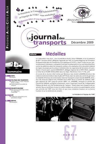 Le Journal des transports N° 67 - ORT PACA