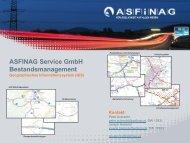 ASFINAG Service GmbH Bestandsmanagement