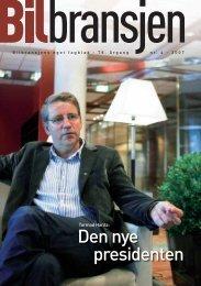 Blad nr. 4-2007 - STRO-boken 2008 - Norges Bilbransjeforbund