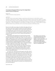 Transnational Ecological Monitoring of the Sangha ... - Yale University