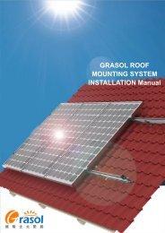 GRASOL ROOF MOUNTING SYSTEM INSTALLATION ... - Solar360