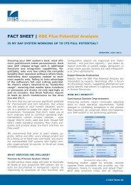 Factsheet - IBIS Prof. Thome