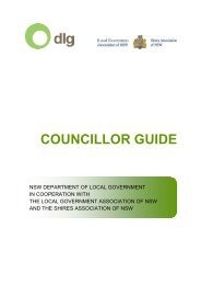 Councillor Guide - Division of Local Government - NSW Government