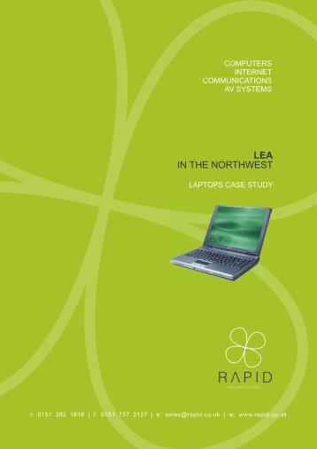 Laptops Case Study - Rapid Technologies