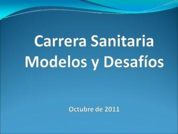 Carrera Sanitaria. Modelos y desafios - Observatorio de Recursos ...