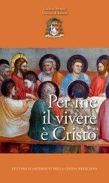 Lettera ai sacerdoti della Chiesa Bresciana - Diocesi di Brescia